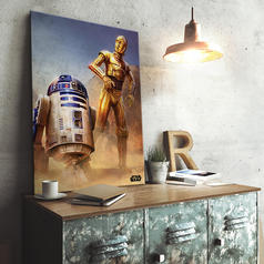 Star Wars Episode IV Metal Poster