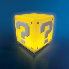 Nintendo Super Mario Mini Question Block Light with Sound