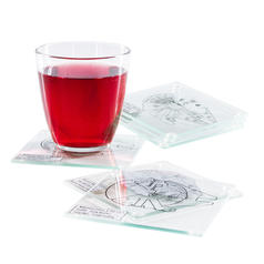 Star Wars Millennium Falcon Glass Coasters