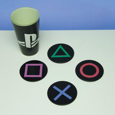 Playstation Icons Metal Coasters