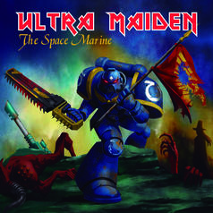 Ultra Maiden Vinyl Cover - The Space Marine
