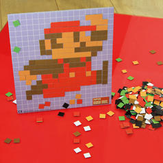 Nintendo Super Mario Pixel Craft