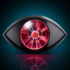 Plasma Eye - Pulsating Plasma Ball