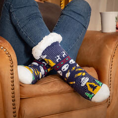 getDigital Alien Winter Socks