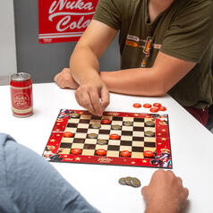 Fallout Nuka Cola Checkers Game