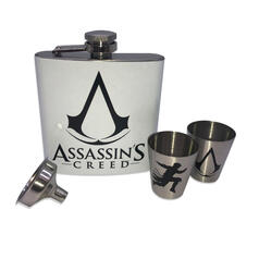 Assassin's Creed Hip Flask with Shot Glasses