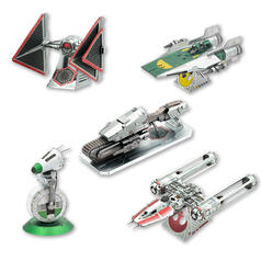 Star Wars Episode 9 Metal Earth 3D Construction Kits