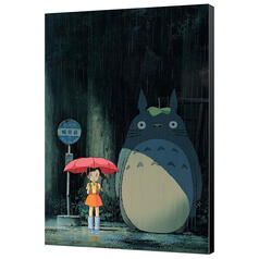 Ghibli My Neighbor Totoro Wood Panel