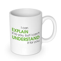 Explain vs Understand Mug