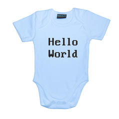 Hello World Babygrow