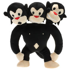 Three-headed Monkey Plush