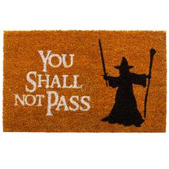 Doormat You shall not pass