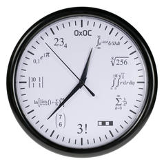 Maths Clock