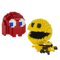 Pac-Man Pixel Bricks