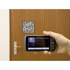 QR Code Wall Stickers
