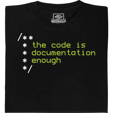 The code is documentation enough