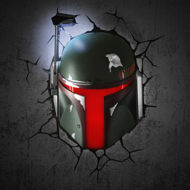 Star Wars Wall Lamp Boba Fett | getDigital