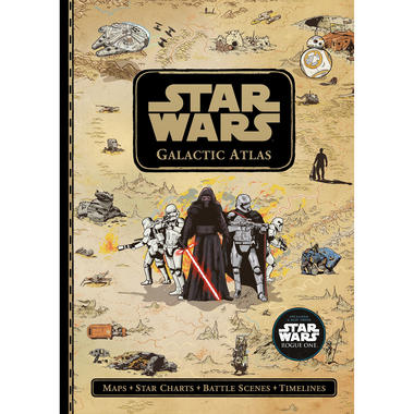 Star Wars Galactic Atlas - Maps, Star Charts, Battle Scenes, and Timelines