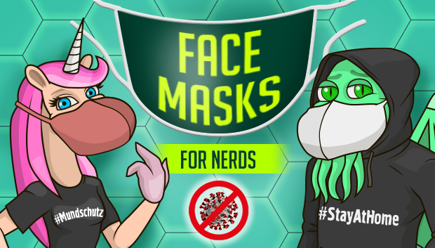 Nerdy Face Masks